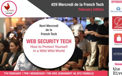 Web security event by La French Tech Thailande